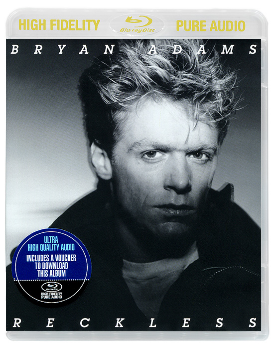 Брайан Адамс Bryan Adams. Reckless (Blu-ray Audio) 3d blu ray плеер samsung bd j7500