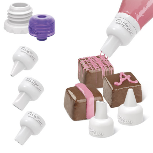 Набор насадок для кондитерского мешка Wilton Candy Melts, 5 предметов масса для лепки candy clay набор круассан