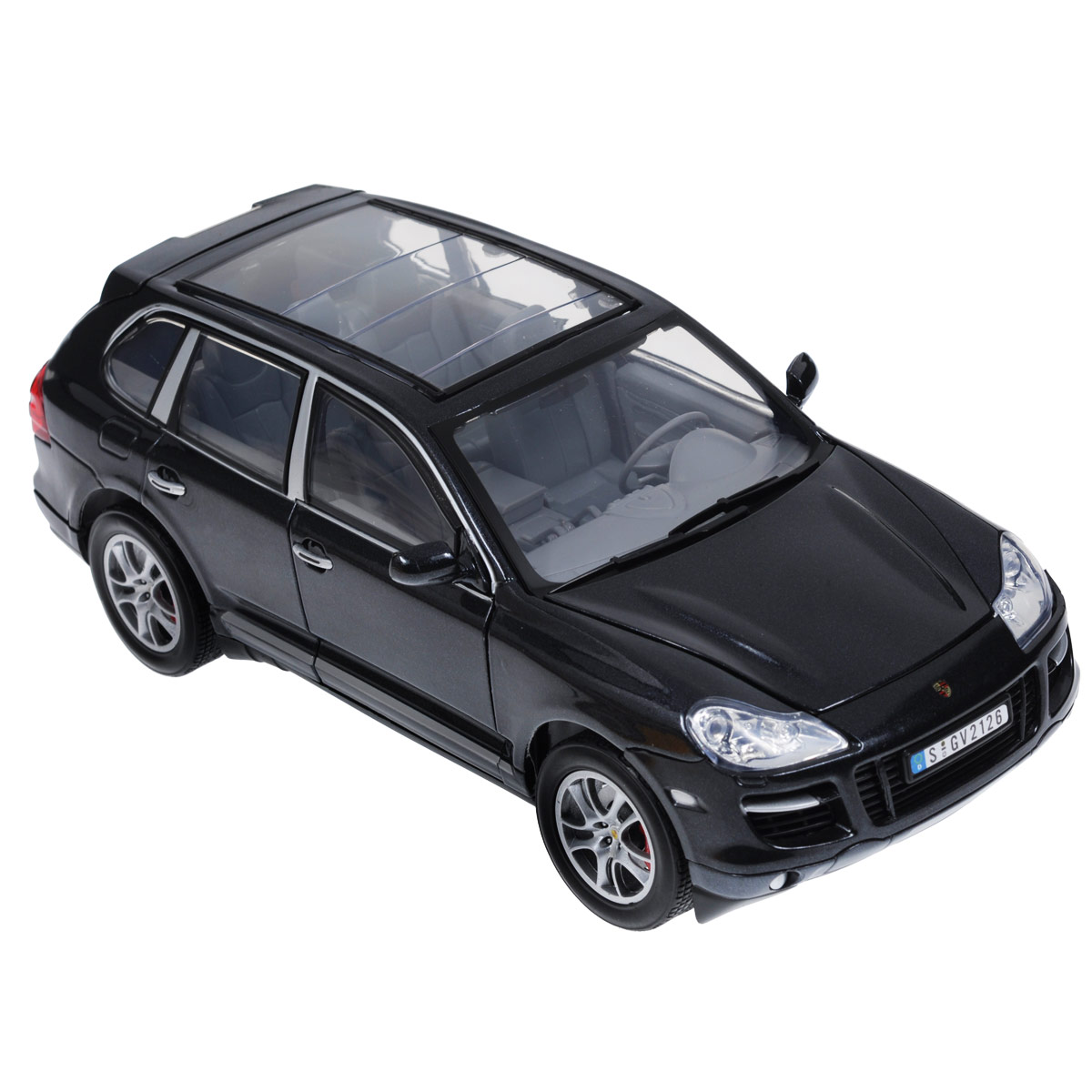 Autotime Модель автомобиля Porsche Cayenne Turbo машины pit stop машинка porsche cayenne turbo 1 43