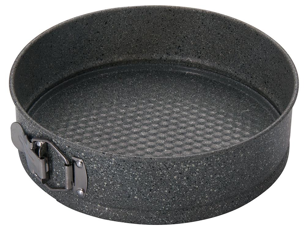 Форма для выпечки Regent Inox Linea Easy разъемная, круглая, с антипригарным покрытием, цвет: серый, диаметр 24 см93-CS-EA-25-04Круглая форма для выпечки Regent Inox Linea Easy выполнена из углеродистой стали с двухсторонним антипригарным покрытием. Форма имеет разъемный механизм, благодаря чему готовое блюдо очень легко вынимать из формы. Блюда не пригорают и не прилипают к стенкам. Такая форма значительно экономит время по сравнению с аналогичными формами для выпечки. С формой для выпечки Regent Inox готовить любимые блюда станет еще проще. Перед первым применением форму вымыть и смазать маслом. Максимальная температура нагрева 250°С. Можно мыть в посудомоечной машине. Диаметр формы: 24 см. Высота стенки: 7 см.