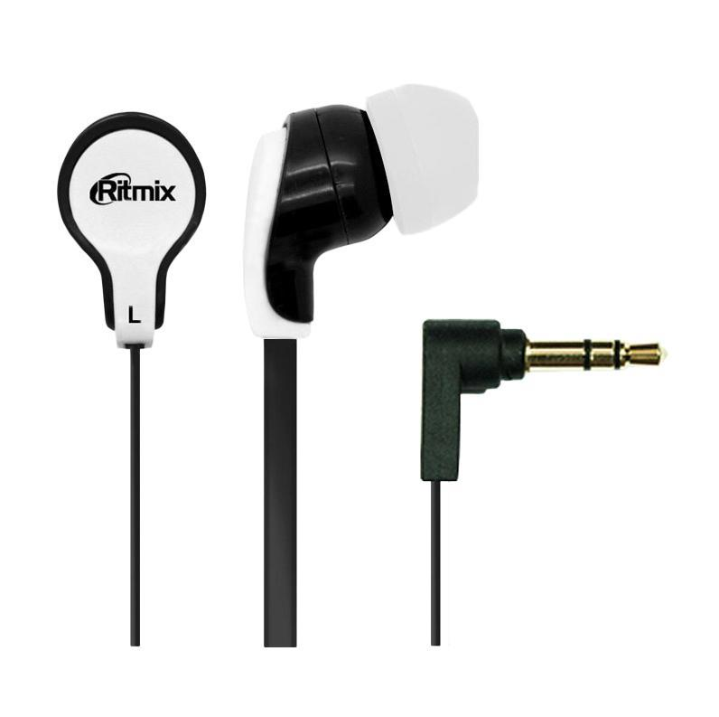 Ritmix RH-183, Black White наушники ritmix rh 136 metal copper наушники