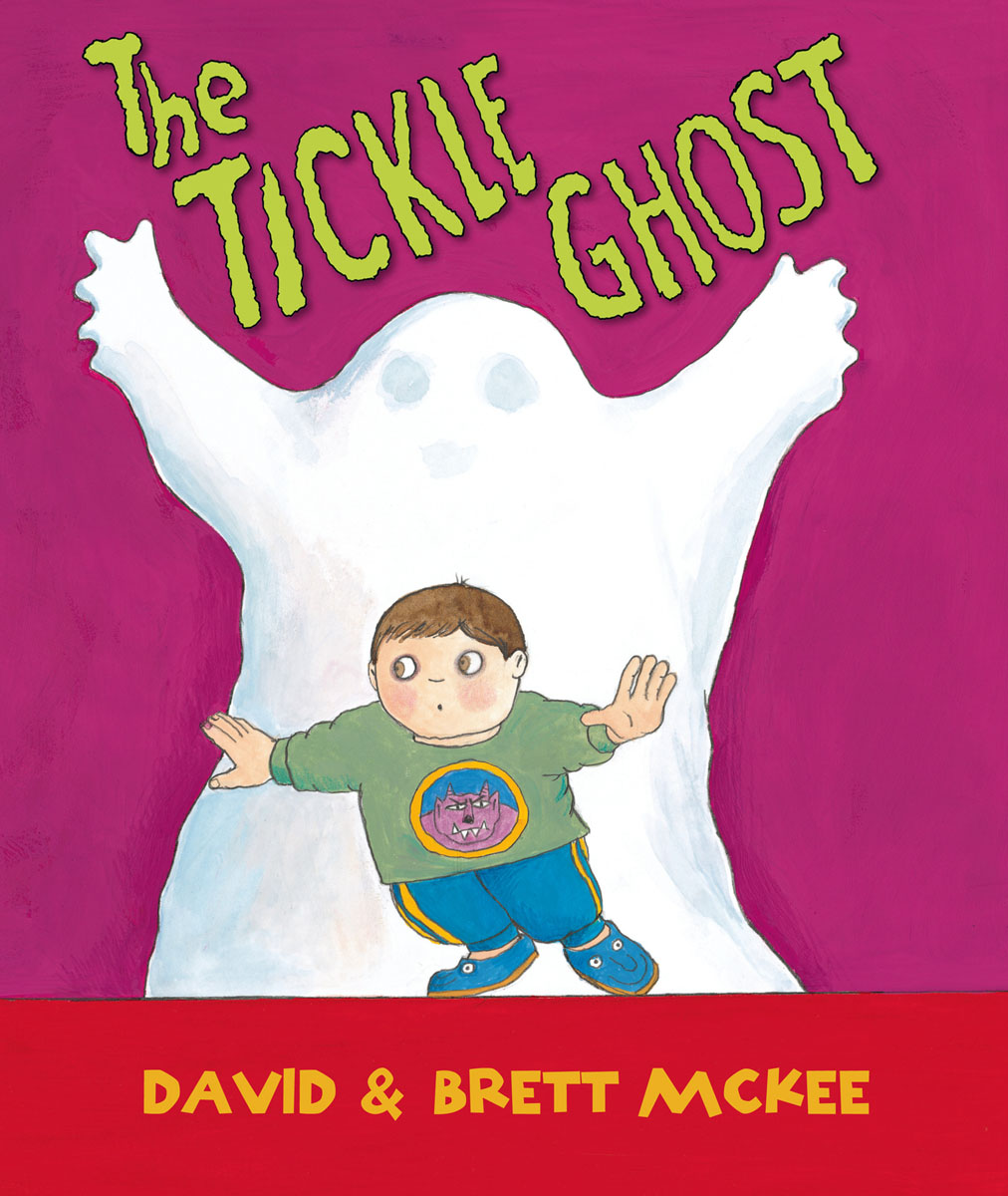 The Tickle Ghost tickle monster