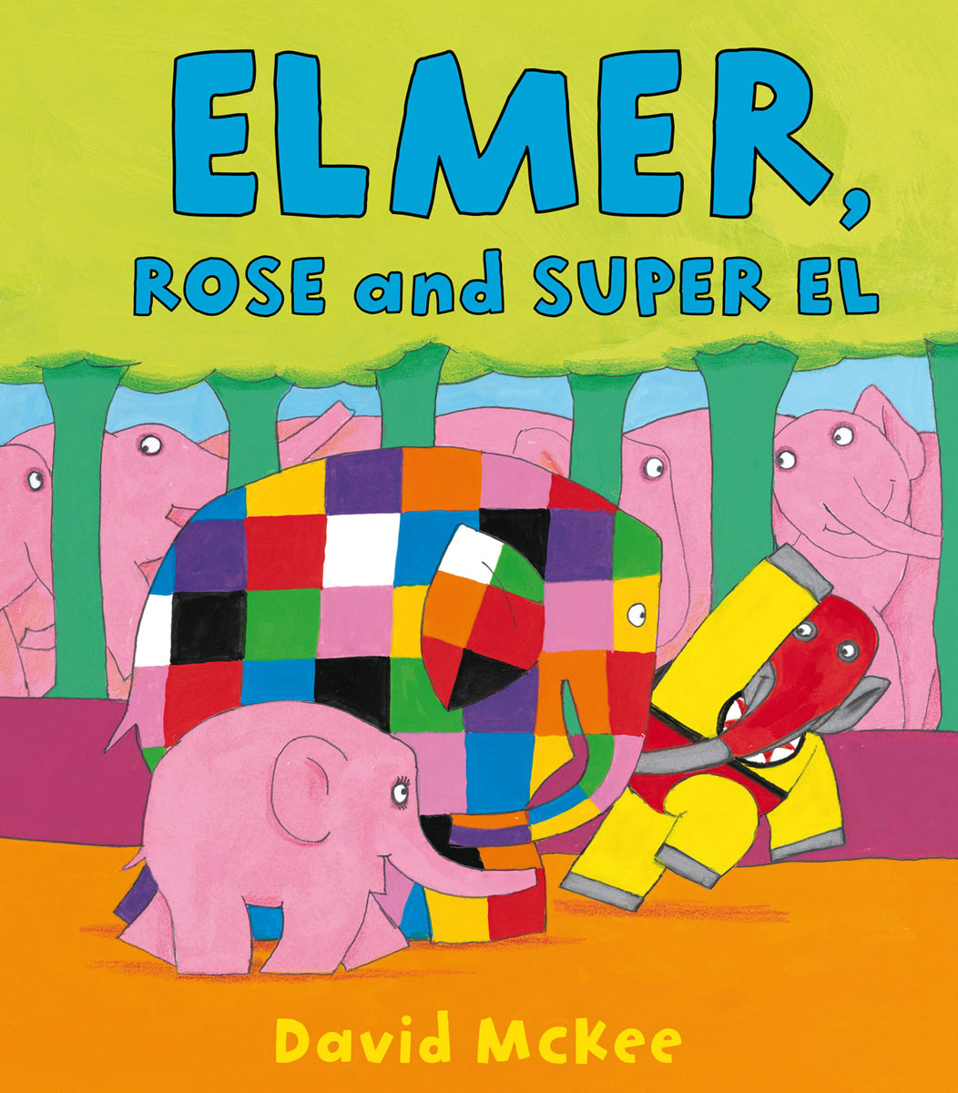 Elmer, Rose and Super El 30pcs in one postcard take a walk on the go dubai arab emirates christmas postcards greeting birthday message cards 10 2x14 2cm