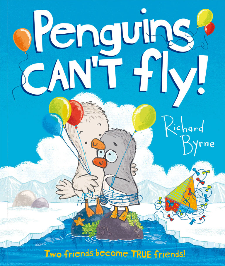 Penguins Can't Fly! charlie chick learns to fly