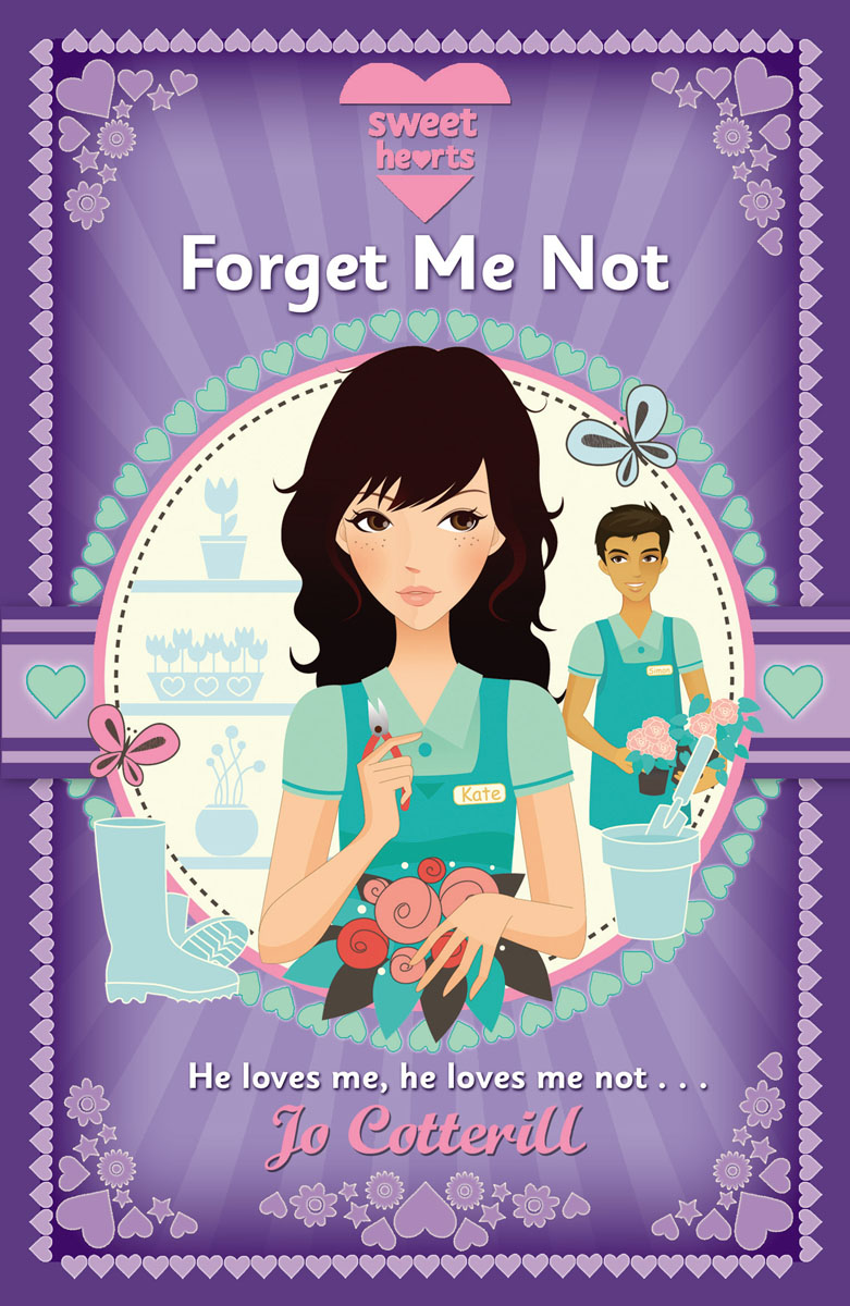 Sweet Hearts: Forget Me Not florist grump