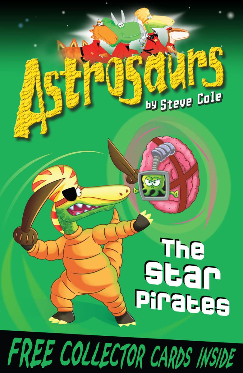 Astrosaurs 10: The Star Pirates peep inside the garden