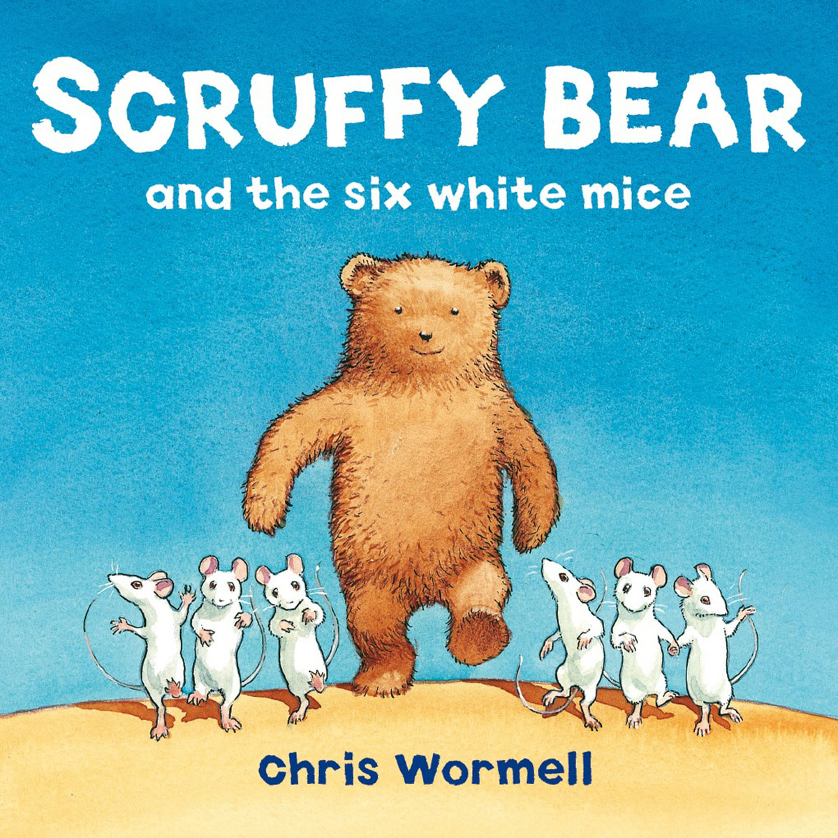 Scruffy Bear and the Six White Mice runner