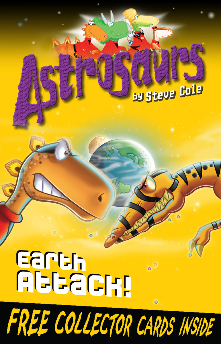 Astrosaurs 20: Earth Attack! verne j journey to the centre of the earth