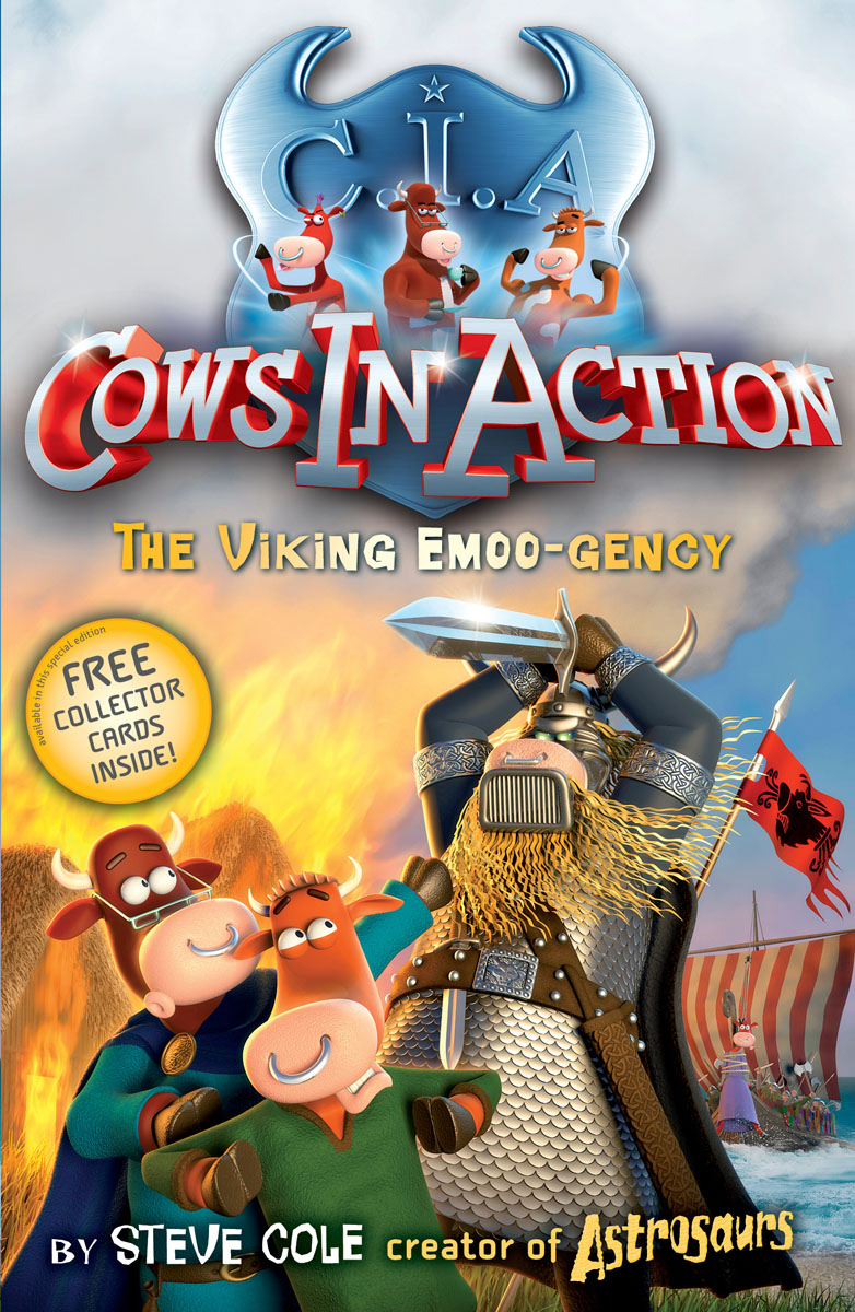 Cows in Action 12: The Viking Emoo-gency stolen