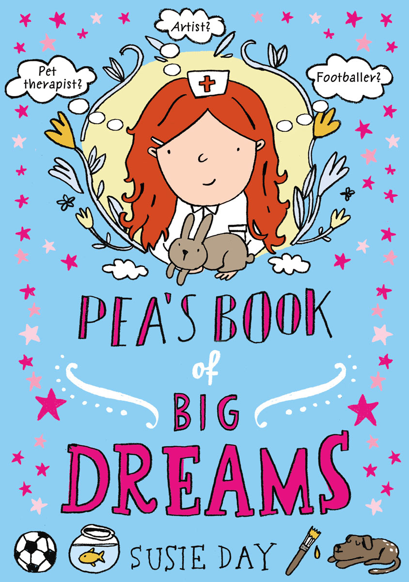 Pea's Book of Big Dreams what she left