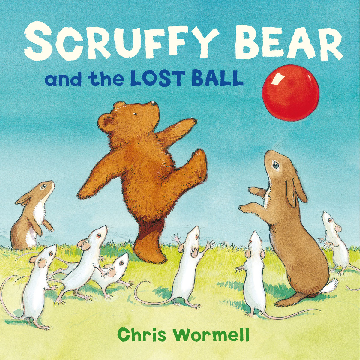 Scruffy Bear and the Lost Ball купить