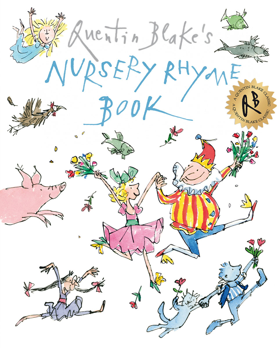 Quentin Blake's Nursery Rhyme Book the twenty three