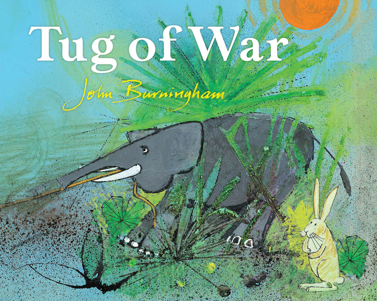 Tug Of War the hippopotamus