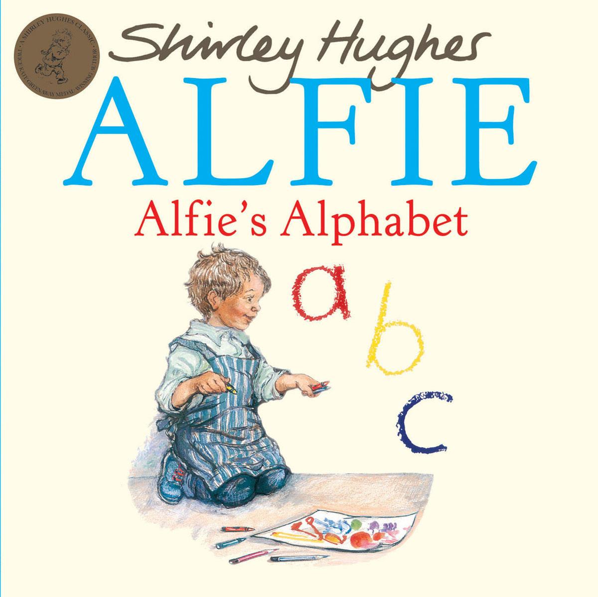 Alfie's Alphabet alfie and dad
