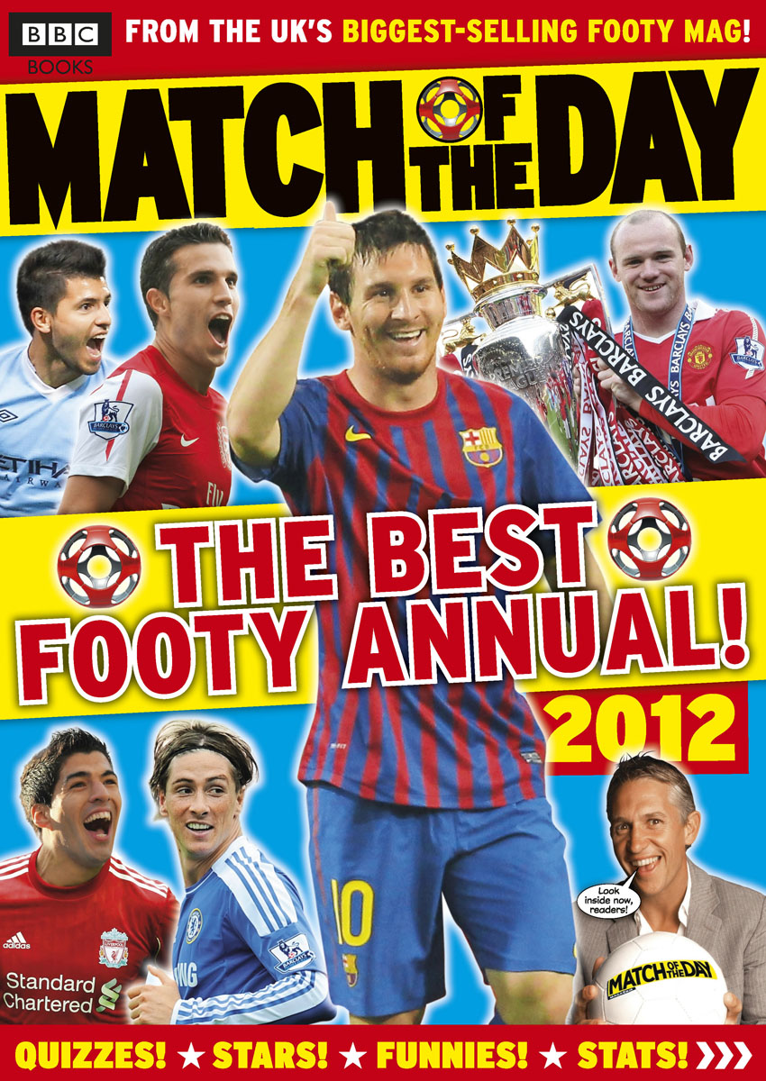 Match of the Day Annual 2012 match of the day quiz book