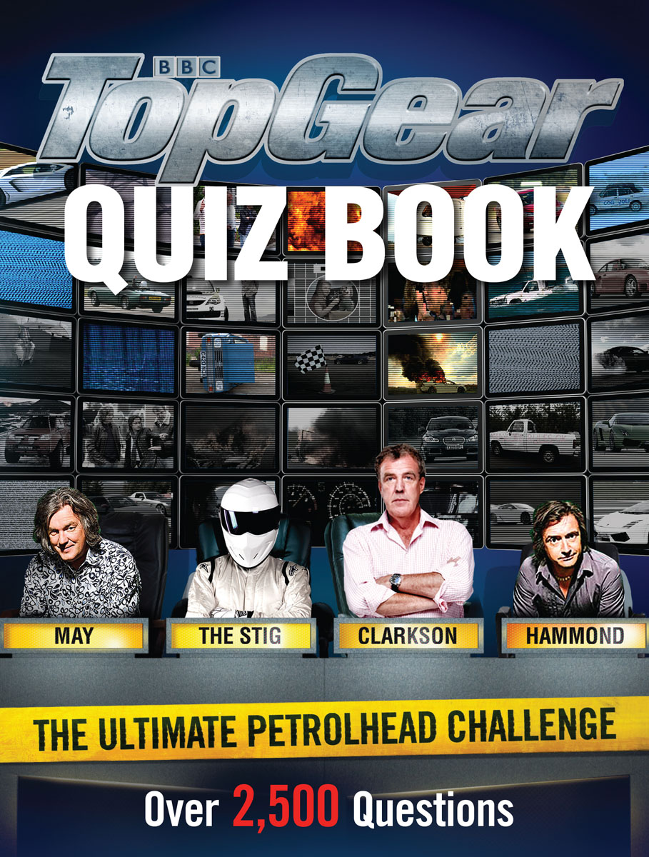 Top Gear Quiz Book match of the day quiz book