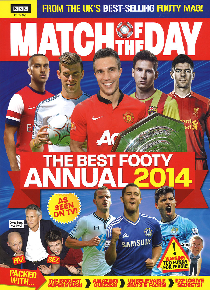 Match of the Day Annual 2014 match of the day quiz book