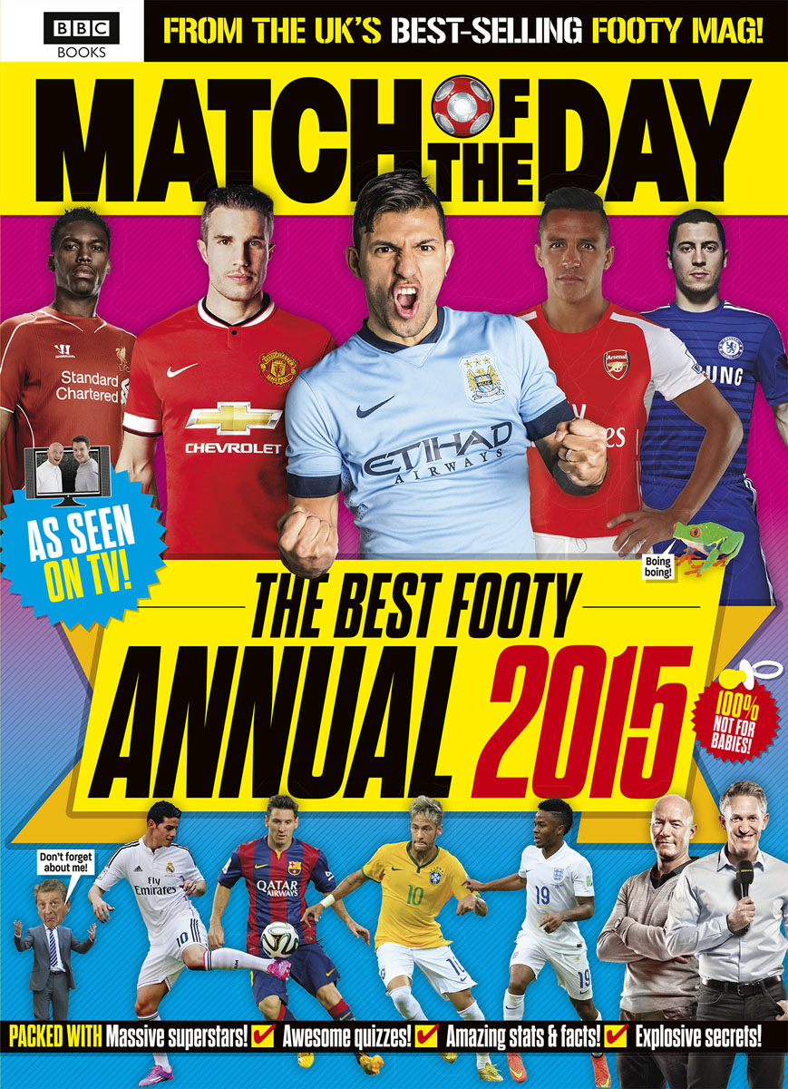 Match of the Day Annual 2015 match of the day quiz book