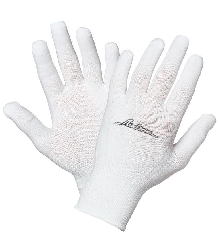Перчатки нейлоновые AirlineAWG-NS-12Нейлоновые перчатки Airline позволяют обеспечить защиту рук при выполнении большинства бытовых или производственных работ.Преимущества: Защита рук от механических повреждений; Высокая чувствительность для работы с мелкими деталями;Высокая износоустойчивость.