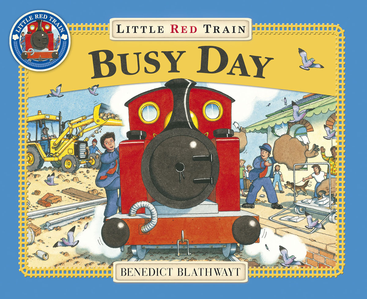 Little Red Train: Busy Day verne j journey to the centre of the earth