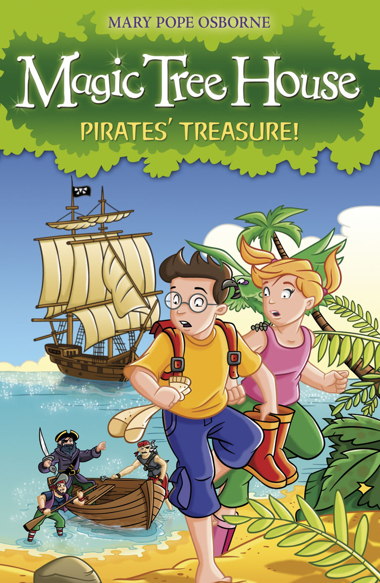 Купить Magic Tree House 4: Pirates' Treasure!,