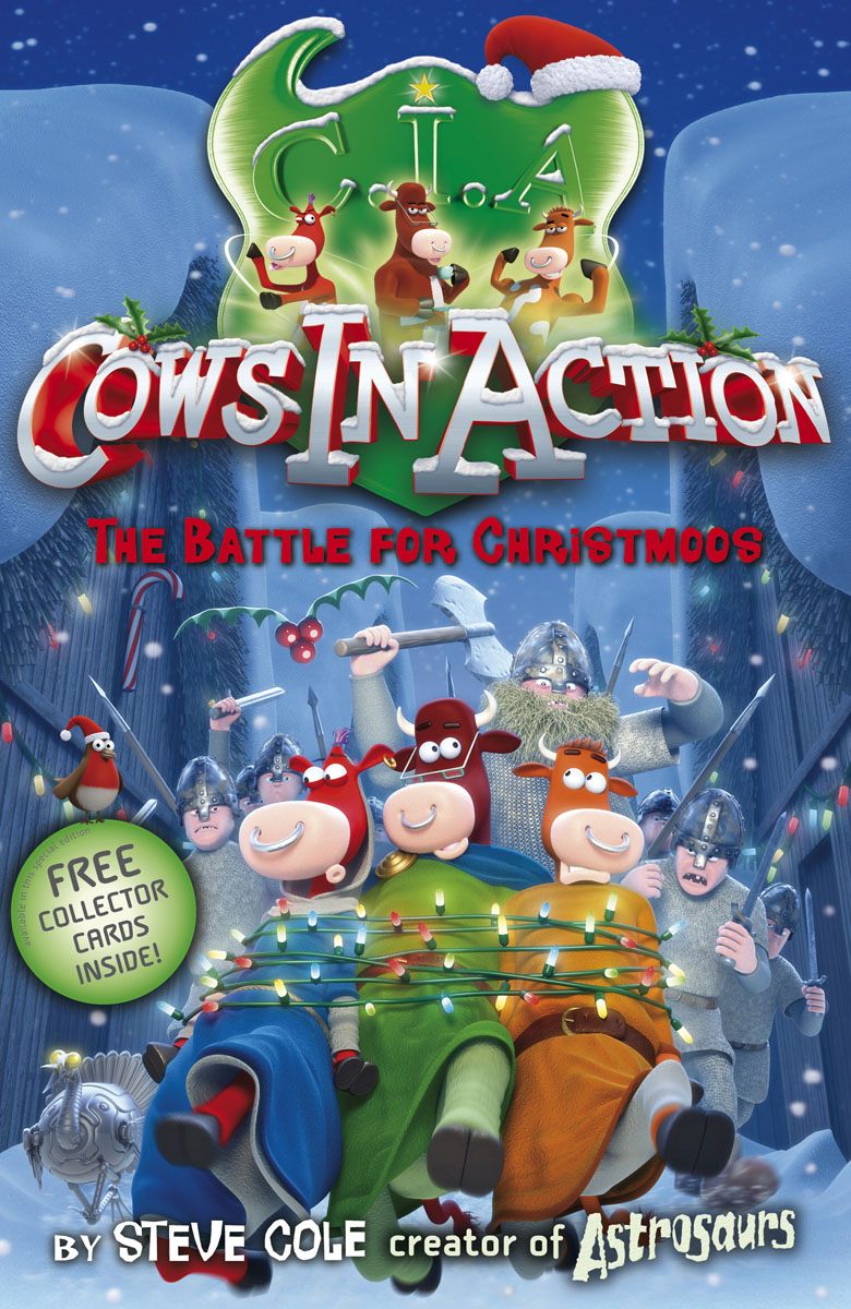 Cows In Action 6: The Battle for Christmoos 30pcs in one postcard take a walk on the go dubai arab emirates christmas postcards greeting birthday message cards 10 2x14 2cm