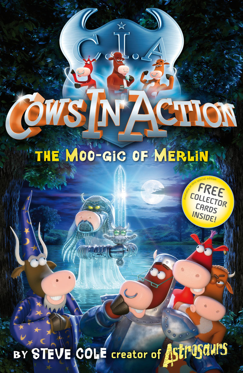 Cows In Action 8: The Moo-gic of Merlin malory t le morte d arthur king arthur and the knights of the round table