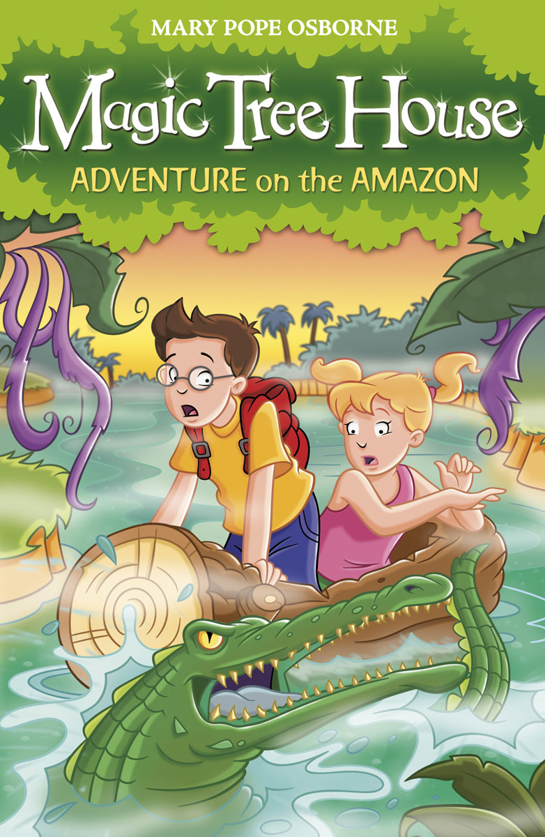 Купить Magic Tree House 6: Adventure on the Amazon,