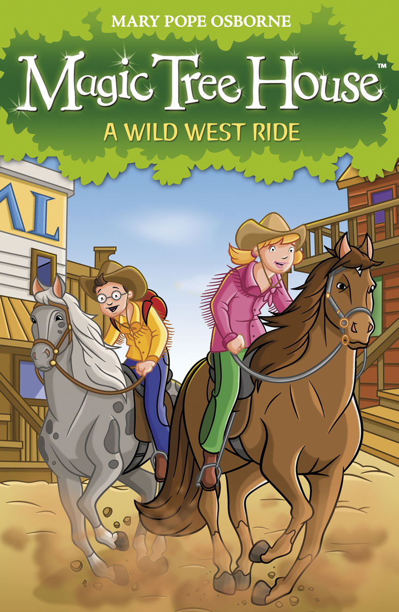 Magic Tree House 10: A Wild West Ride the swan thieves