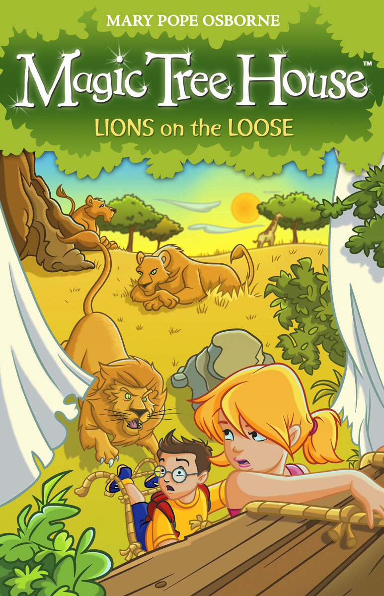Magic Tree House 11: Lions on the Loose magic tree house 7 mammoth to the rescue