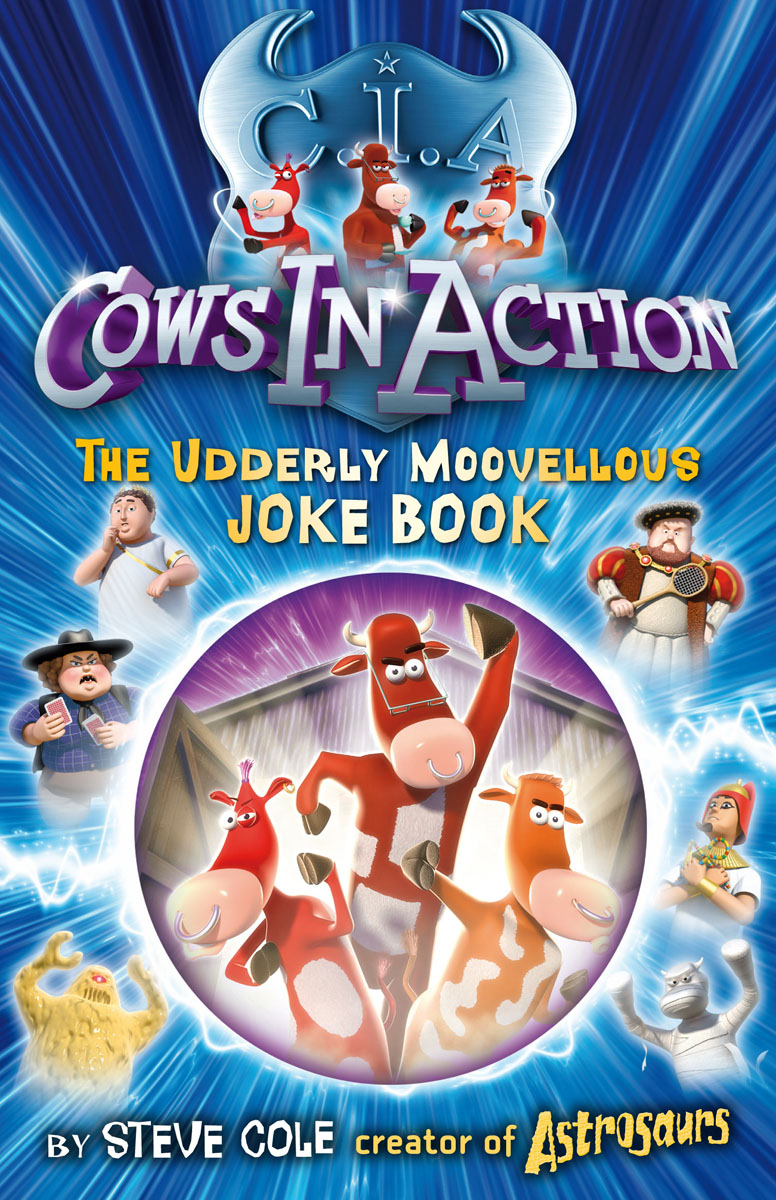 Cows In Action Joke Book