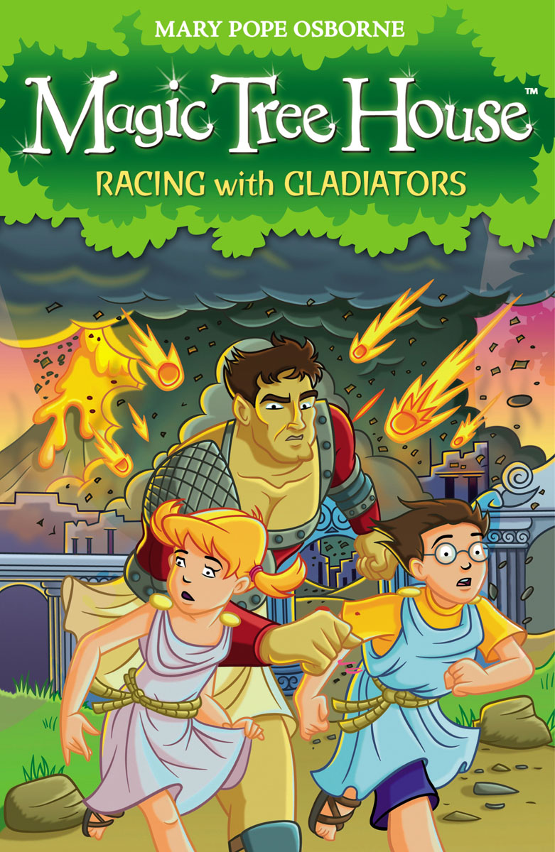 Magic Tree House 13: Racing With Gladiators mary pope osborne magic tree house 39 dark day in the deep sea
