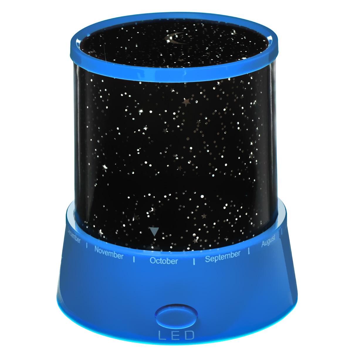 Ночник Bradex Звездное небоTD 0161Ночник Bradex Звездное небо привнесет в Вашу жизнь романтику и позволит любоваться красотой звездного неба, не выходя из дома. Ночник Звездное небо - это не только осветительный прибор и предмет декора, но и украшение Вашей комнаты, которое превращает ее в волшебную сказку. Ночник имеет несколько вариантов подсветки, имитирующих звездное небо: бледно-желтая подсветка, красная, зеленая и синяя подсветка, которые меняются при переключении специальной кнопки, расположенной на базе ночника. Минимальные размеры позволяют использовать по максимуму пространство даже самой крошечной детской. Устройство работает от батареек, что позволит поставить его не только в любое место в квартире, но и также взять его с собой на дачу или в путешествие. Такой ночник идеально подойдет для детской комнаты и поможет без проблем уложить ребенка в кровать. Ночник не только приведет в восторг Ваших детей, но и станет прекрасным дополнением к романтическому ужину. Работает от 3 батареек типа АА (в комплект не входят).