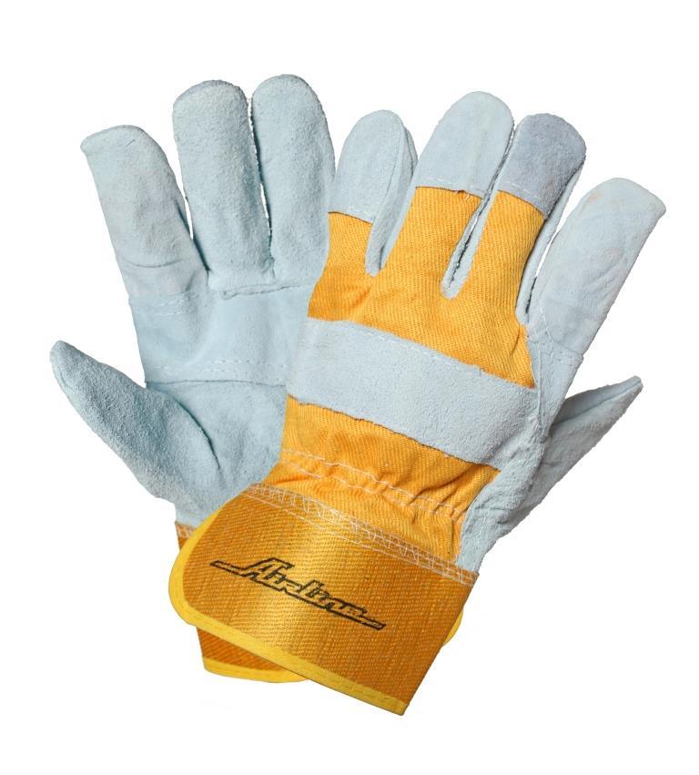 Перчатки спилковые AirlineAWG-S-06Спилковые перчатки Airline позволяют обеспечить защиту рук при выполнении большинства бытовых или производственных работ.Преимущества: Высокая сопротивляемость к проколам и порезам;Выдерживают кратковременное воздействие высоких температур;Выдерживают кратковременное воздействие водной среды;Дышащий материал.