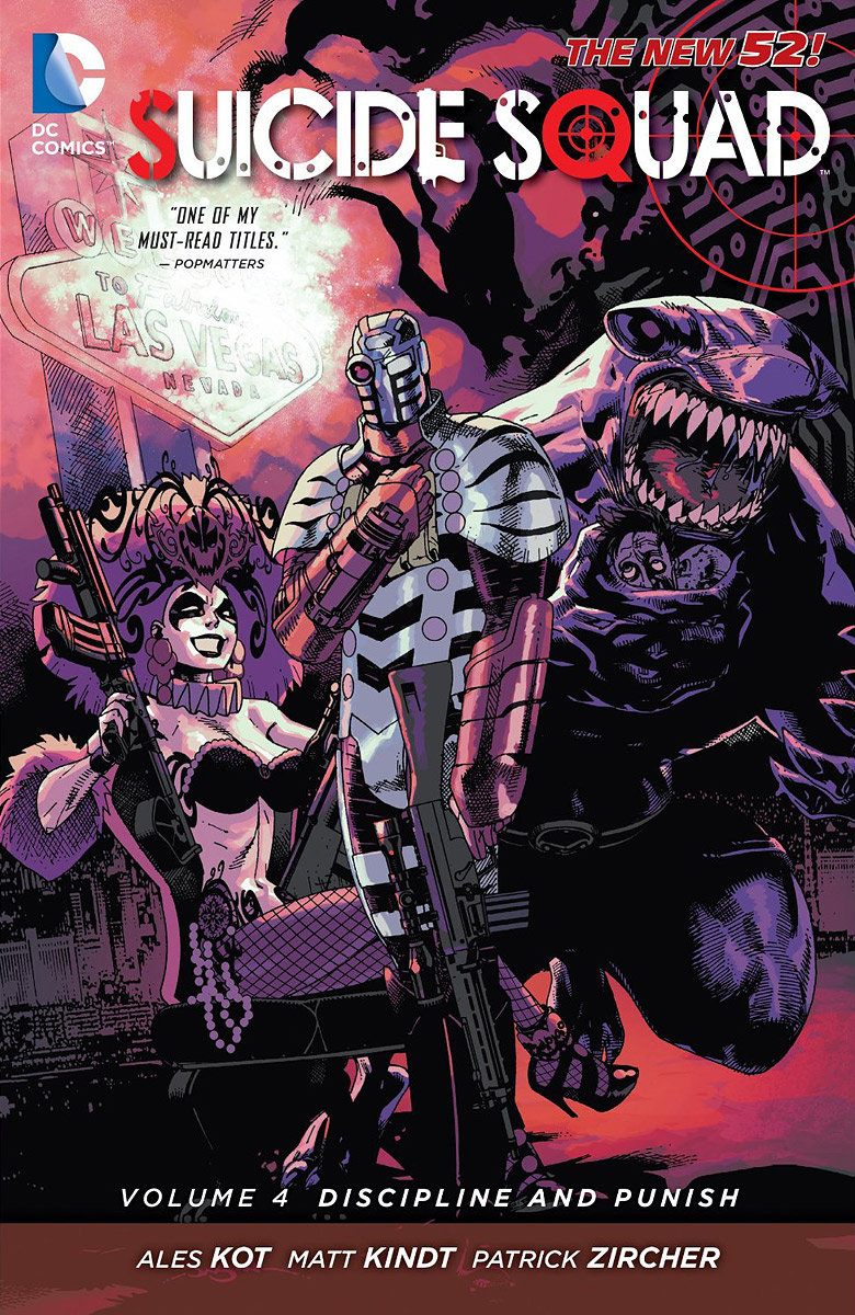 Suicide Squad: Discipline and Punish Volume 4 new lone wolf and cub volume 11