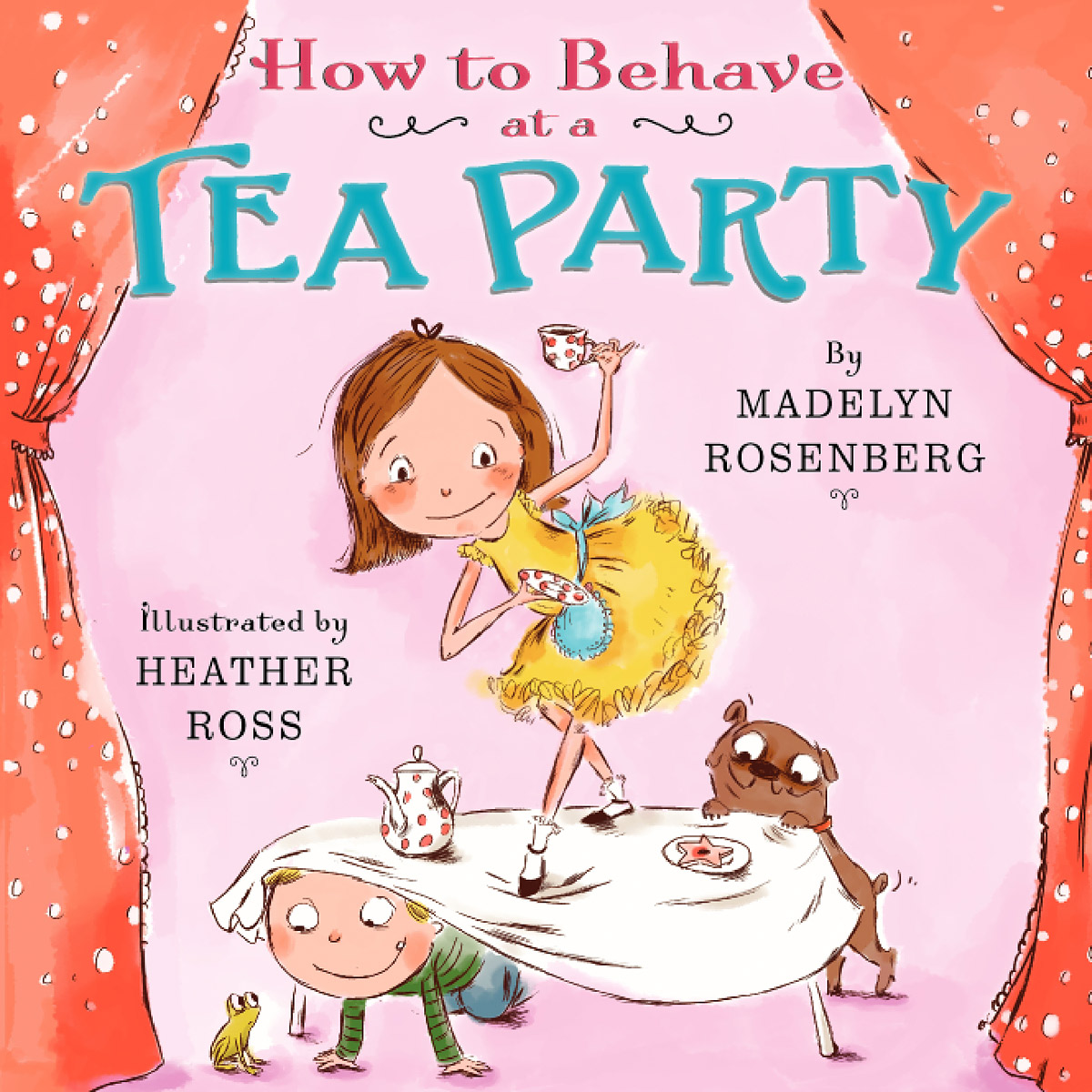 How to Behave at a Tea Party laugh out loud holiday jokes for kids