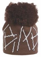 Шапка женская Husky Jovia, цвет: какао. 4261864200. Размер универсальный4261864200Шапка Husky Jovia выполнена из шерсти, подкладка из поликолона, - пропиленового волокна, которое не впитывает влагу и мгновенно выводит ее наружу. Шапка превосходно сохраняет тепло, она мягкая и идеально прилегает к голове. Материалы, из которых изготовлена шапка, не вызывают аллергии, обладают антибактериальными свойствами (предотвращают появление неприятного запаха). Шапка оформлена большим помпоном.