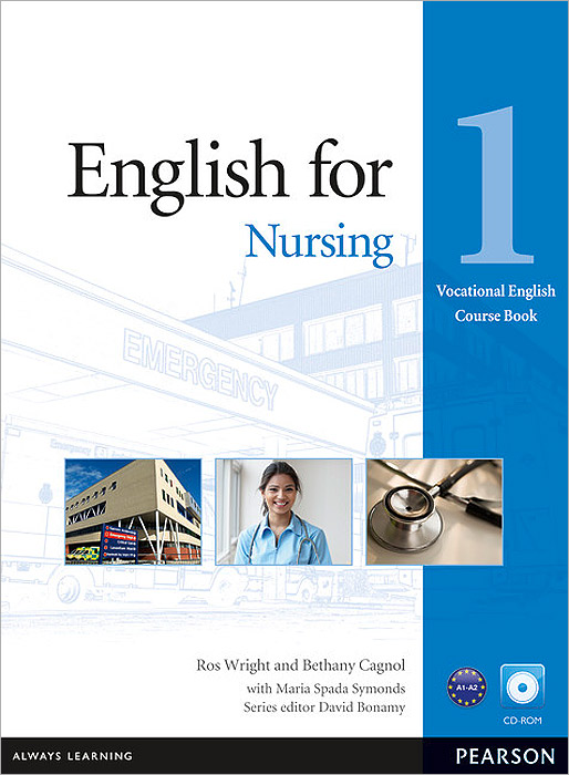 English for Nursing: Level 1: Course Book (+ CD-ROM) english explorer 1 examview cd rom x1
