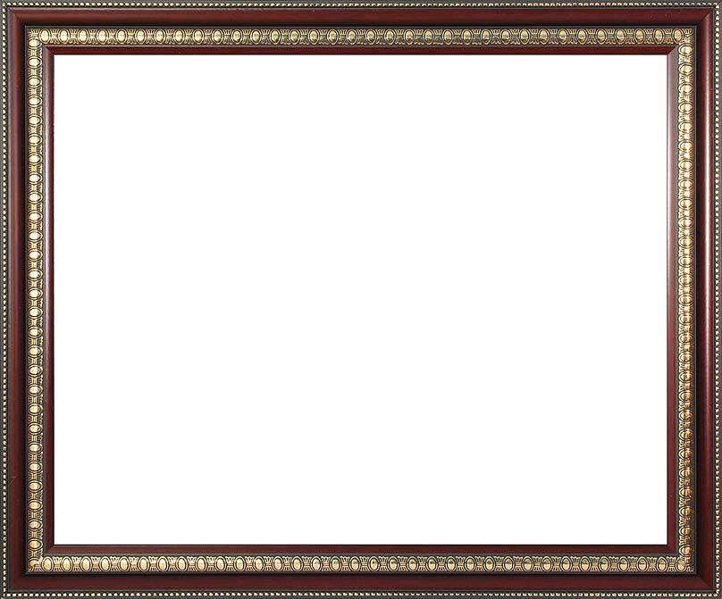 Багетная рама Renaissance, цвет: темно-коричневый, золотистый, 40 х 50 см2563-BB Renaissance (т. коричневый)Багетная рама Renaissance изготовлена из пластика. Багетные рамы предназначены для оформления картин, вышивок и фотографий.Оформленное изделие всегда становится более выразительным и гармоничным. Подбор багета для картин очень важен - от этого зависит, какое значение будет иметь выполненная работа в вашем интерьере. Если вы используете раму для оформления живописи на холсте, следует учесть, что толщина подрамника больше толщины рамы и сзади будет выступать, рекомендуется дополнительно зафиксировать картину клеем, лист-заглушку в этом случае не вставляют. В комплекте - крепежные элементы, с помощью которых изделие можно подвесить на стену.
