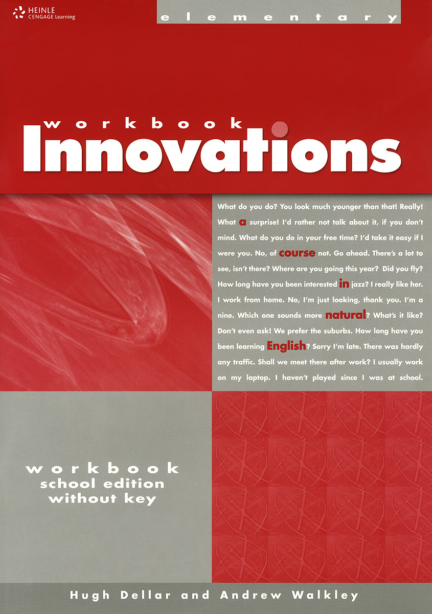 Innovations: Elementary Workbook a Course in Natural English global elementary coursebook with eworkbook pack