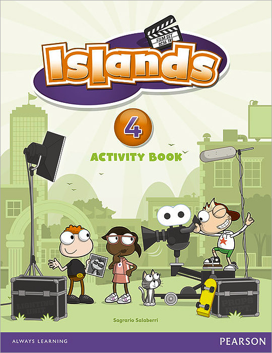 Islands: Level 4: Activity Book christmas colouring and activity book