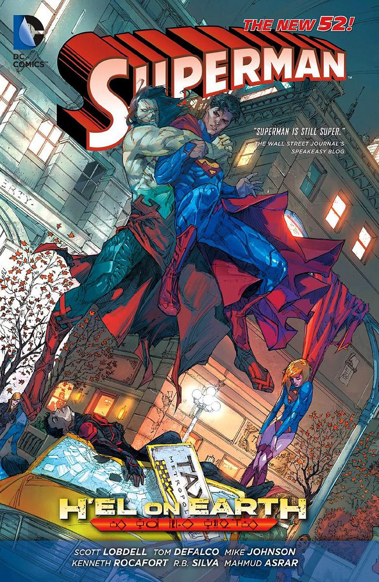Superman: H'el On Earth alex benedict tothe earth