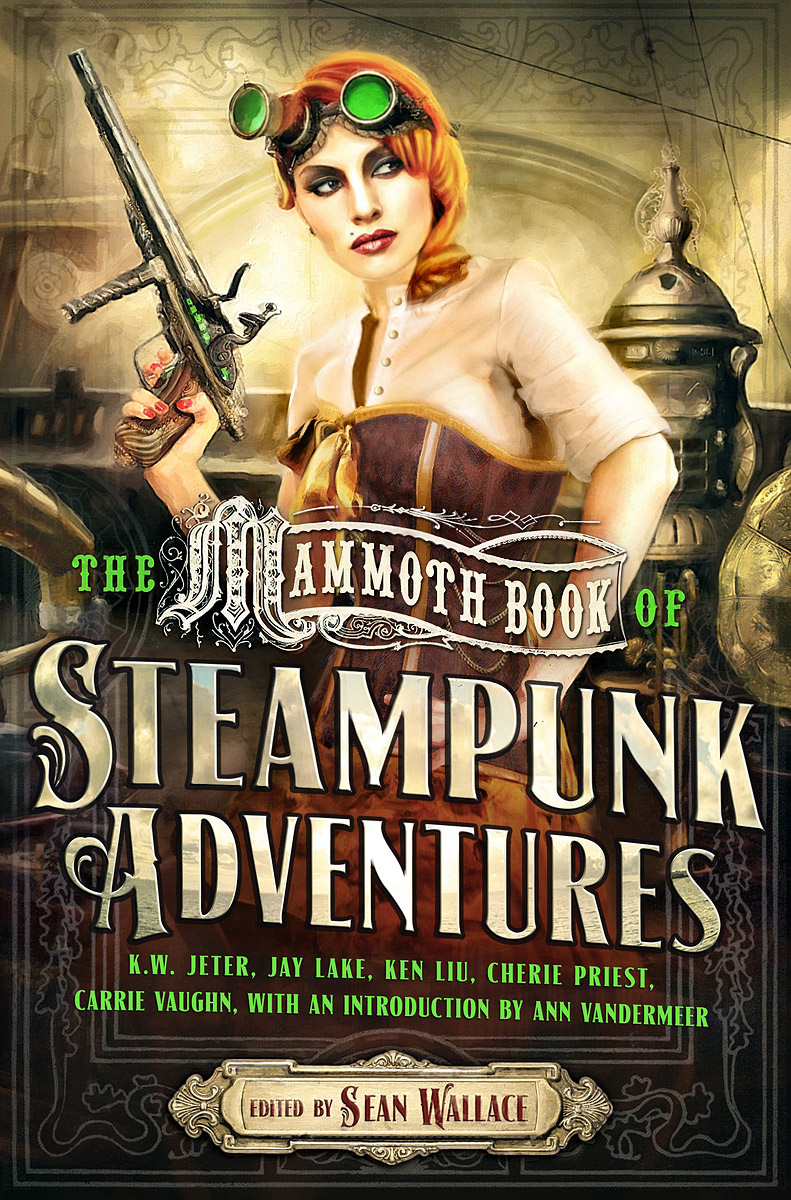 The Mammoth Book of Steampunk Adventures amazing adventures sticker book