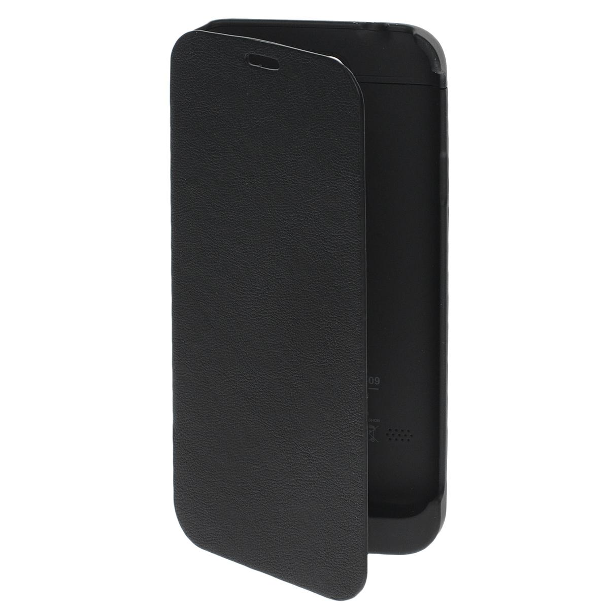 EXEQ HelpinG-SF09 чехол-аккумулятор для Samsung Galaxy S5, Black (3300 мАч, флип-кейс) цена и фото