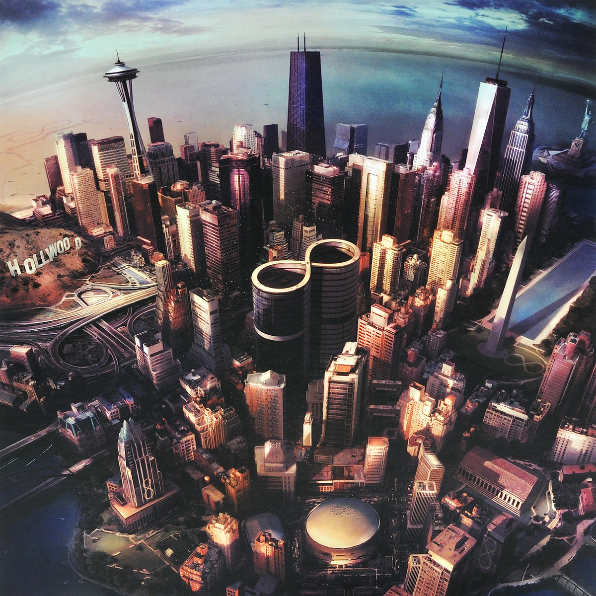 Foo Fighters Foo Fighters. Sonic Highways (LP) foo fighters foo fighters wasting light 2 lp