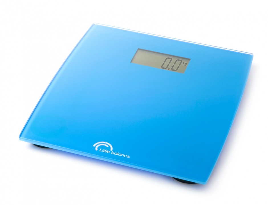 Весы напольные Little balance Little Cayn, цвет: голубой какой фирмы напольные весы лучше купить