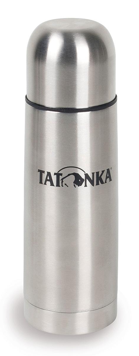 Термос Tatonka Hot & Cold Stuff, 0,3 л4148.000Термос из нержавеющей стали Tatonka Hot & Cold Stuff. Горячее останется горячим, а холодное - холодным, достаточно долгое время. У термоса практичная винтовая пробка, открутив которую на полтора оборота, можно наливать напиток, не вынимая пробку из термоса. Крышка термоса может использоваться как удобный термостакан.Диаметр термоса: 6,7 см.Высота термоса: 20 см.