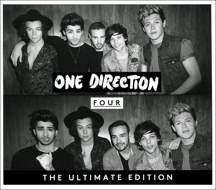 One Direction One Direction. Four. The Ultimate Edition one direction we love one direction