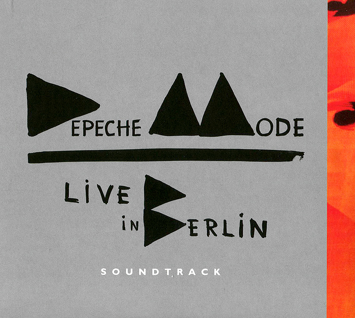 Depeche Mode Depeche Mode. Live in Berlin Soundtrack (2 CD) weather report live in berlin 1975 cd dvd