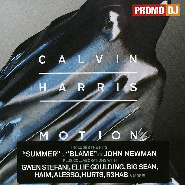 Кельвин Харрис Calvin Harris. Motion стефон харрис stefon harris black action figure 2 lp